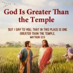 greater than the temple
